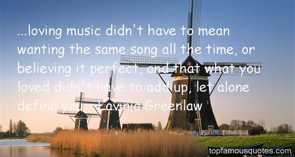 Lavinia Greenlaw Quotes