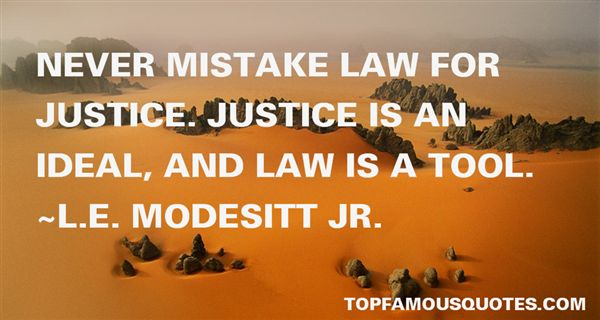 L.E. Modesitt Jr. Quotes