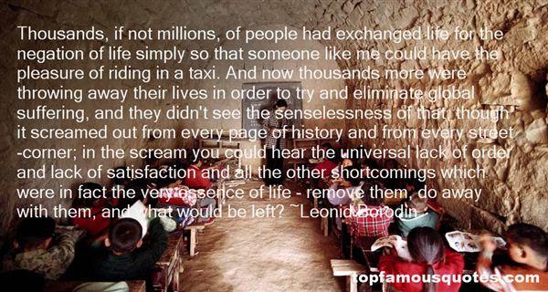 Leonid Borodin Quotes