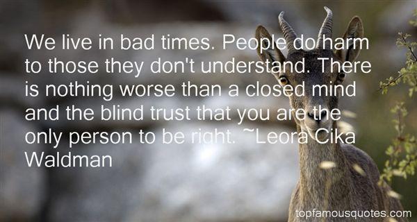 Leora Cika Waldman Quotes