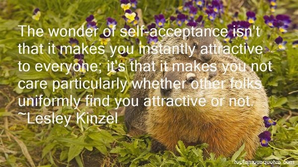 Lesley Kinzel Quotes
