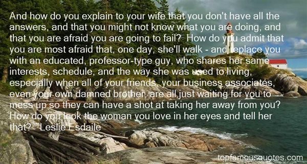 Leslie Esdaile Quotes