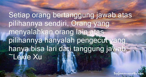 Lexie Xu Quotes
