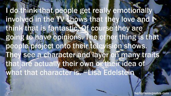 Lisa Edelstein Quotes