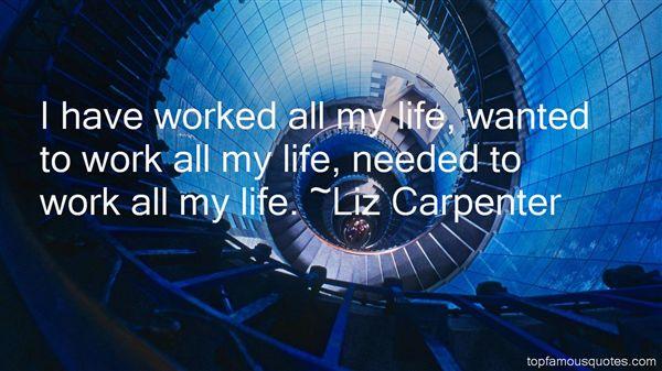 Liz Carpenter Quotes
