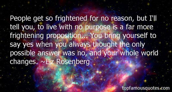 Liz Rosenberg Quotes