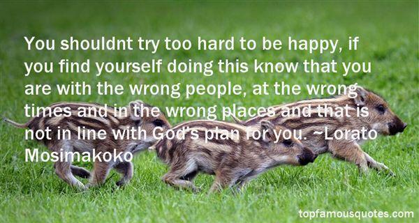 Lorato Mosimakoko Quotes