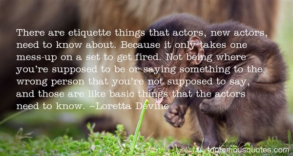 Loretta Devine Quotes
