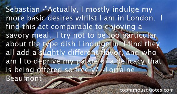 Lorraine Beaumont Quotes