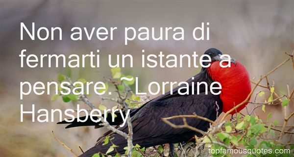 Lorraine Hansberry Quotes