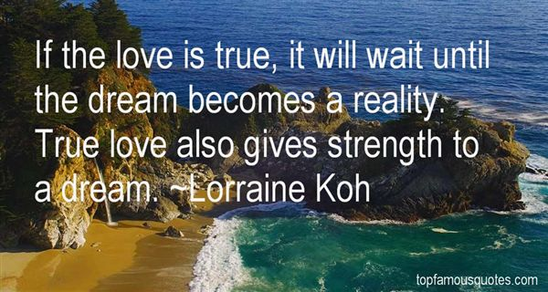 Lorraine Koh Quotes