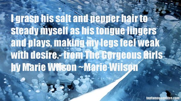 Marie Wilson Quotes