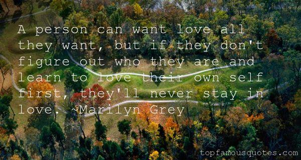 Marilyn Grey Quotes