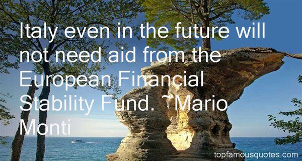 Mario Monti Quotes