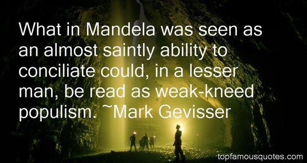 Mark Gevisser Quotes