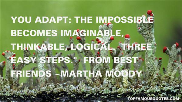 Martha Moody Quotes