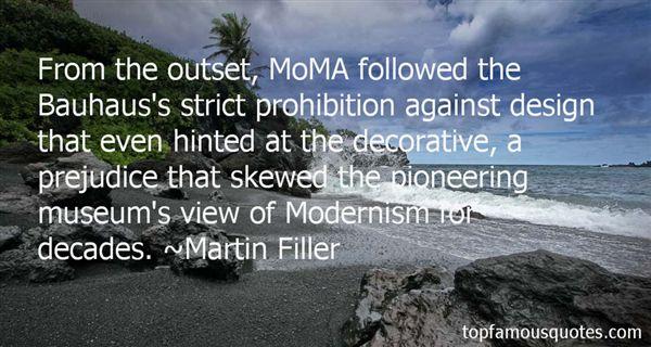 Martin Filler Quotes