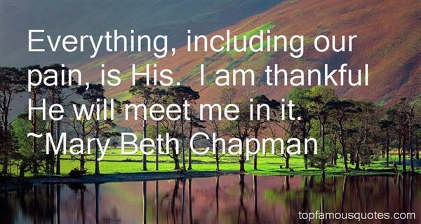 Mary Beth Chapman Quotes