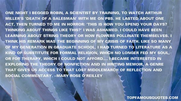 Mary Rose O'Reilley Quotes