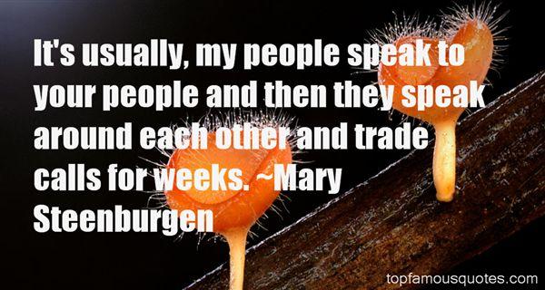 Mary Steenburgen Quotes