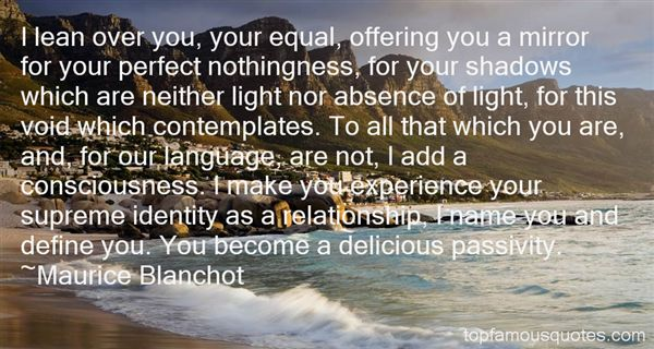 Maurice Blanchot Quotes