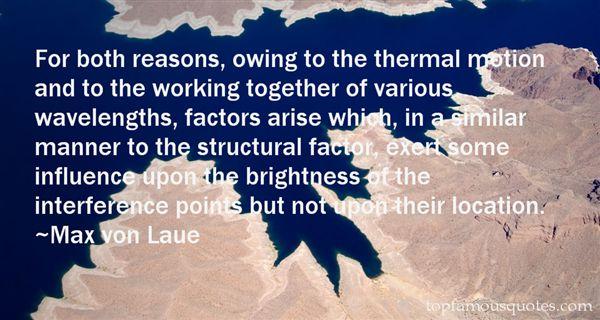 Max Von Laue Quotes