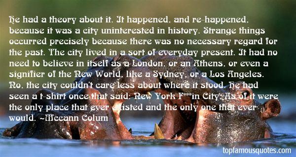 Mccann Colum Quotes