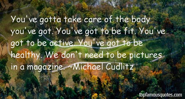 Michael Cudlitz Quotes