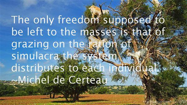 Michel De Certeau Quotes
