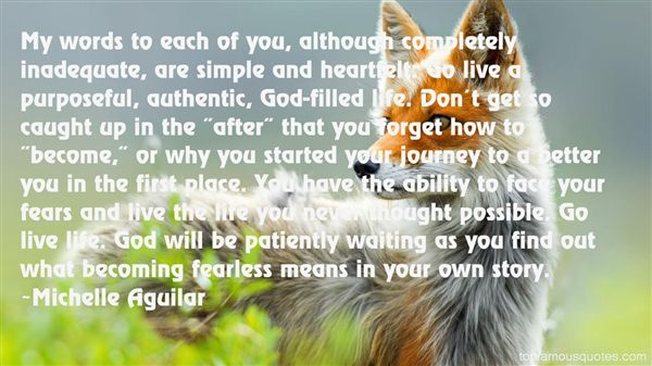 Michelle Aguilar Quotes