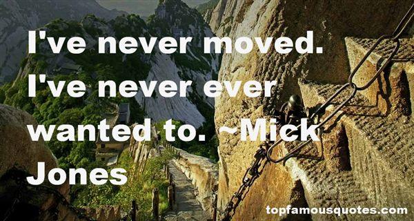 Mick Jones Quotes