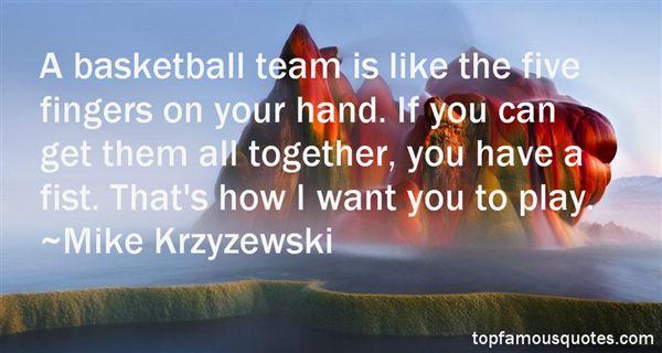 Mike Krzyzewski Quotes