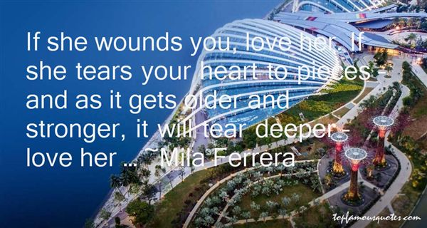 Mila Ferrera Quotes