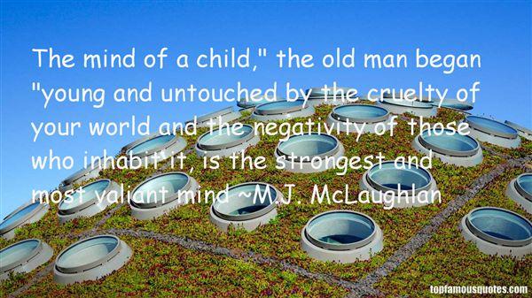 M.J. McLaughlan Quotes