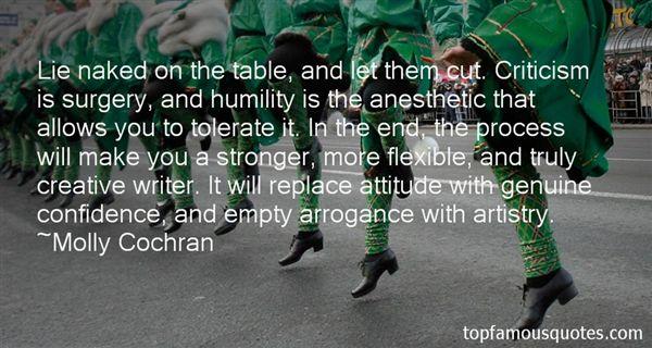 Molly Cochran Quotes