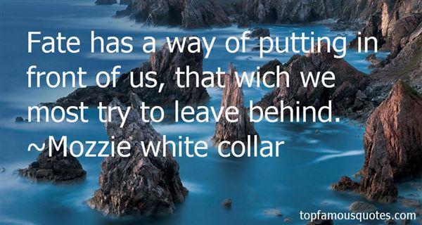 Mozzie White Collar Quotes