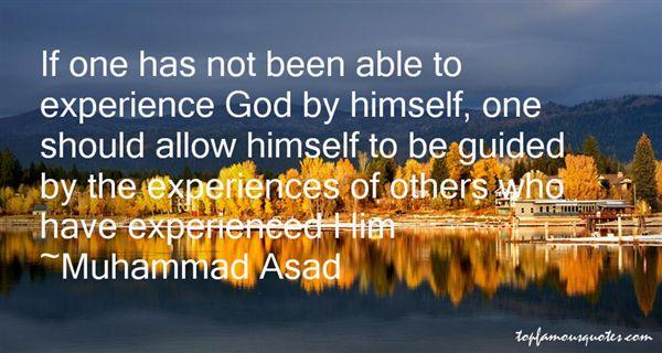 Muhammad Asad Quotes