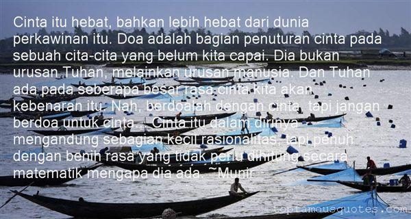 Munir Quotes