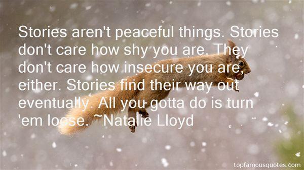 Natalie Lloyd Quotes