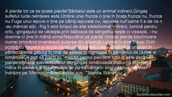 Nichita Stănescu Quotes