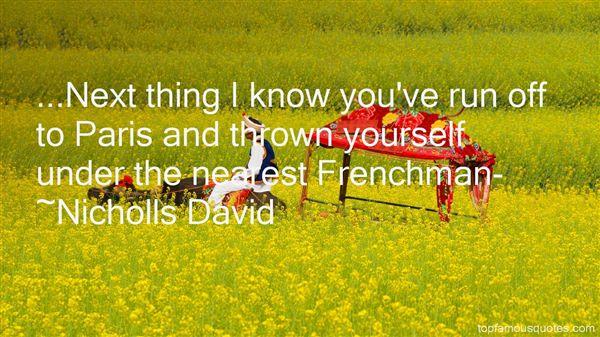 Nicholls David Quotes