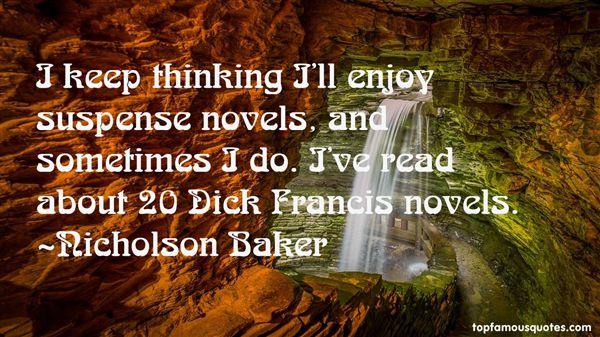 Nicholson Baker Quotes
