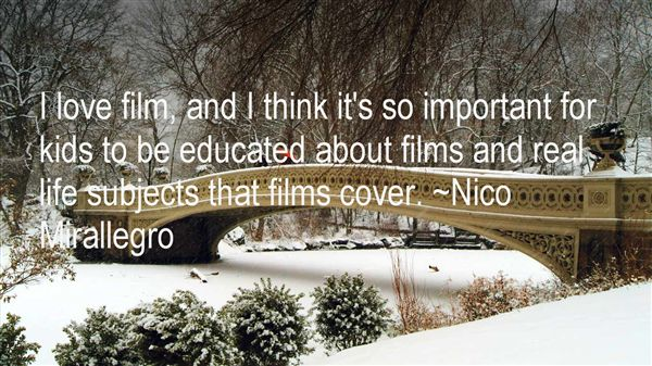 Nico Mirallegro Quotes