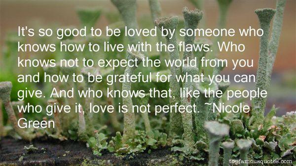 Nicole Green Quotes