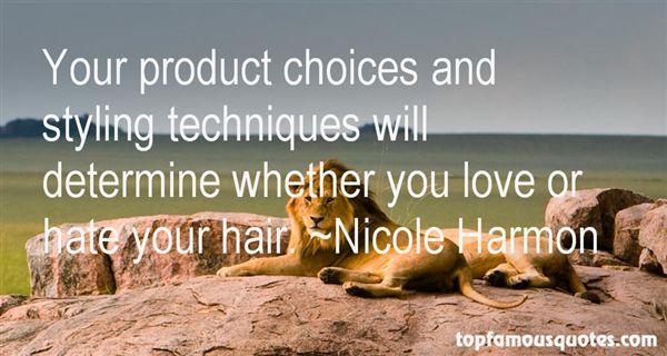 Nicole Harmon Quotes