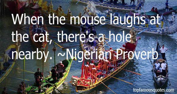 Nigerian Proverb Quotes
