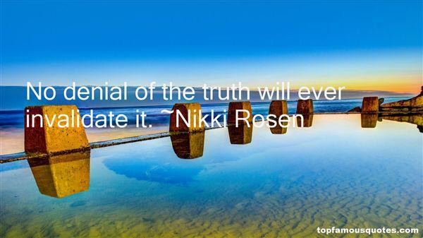 Nikki Rosen Quotes