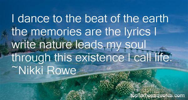 Nikki Rowe Quotes
