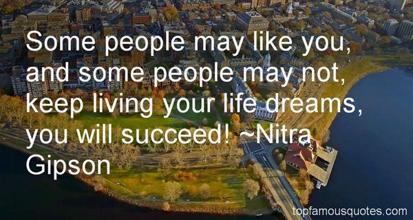 Nitra Gipson Quotes
