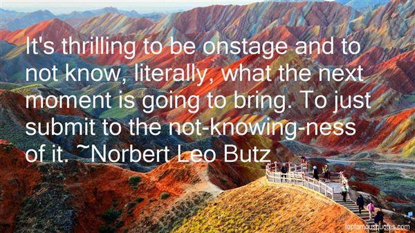 Norbert Leo Butz Quotes